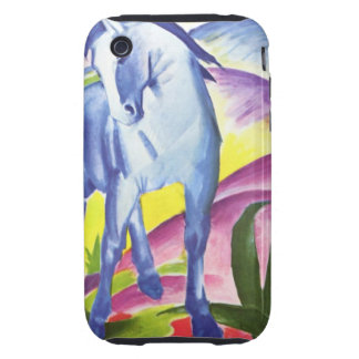 Blaues Pferd I by Franz Marc iPhone 3G,3GS Shell iPhone 3 Tough Cover
