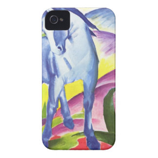 Blaues Pferd I by Franz Marc iPhone 4, 4S Skin iPhone 4 Cases