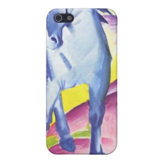 Blaues Pferd I by Franz Marc iPhone 4/4S Skin Cover For iPhone 5