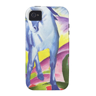 Blaues Pferd I by Franz Marc iPhone 4 Shell iPhone 4/4S Cases
