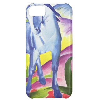 Blaues Pferd I by Franz Marc iPhone 5,  Skin iPhone 5C Cases