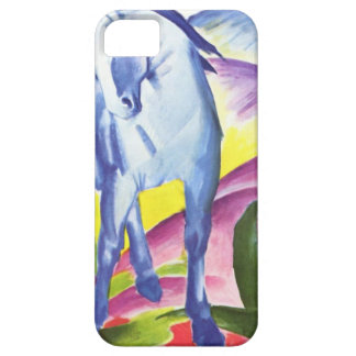 Blaues Pferd I by Franz Marc iPhone 5,  Skin iPhone 5 Covers