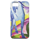 Blaues Pferd I por el iPhone 5 Shell de Franz Marc iPhone 5 Cárcasa