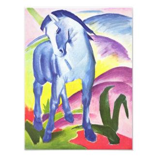 Blaues Pferd I por la impresión de la foto de Fran