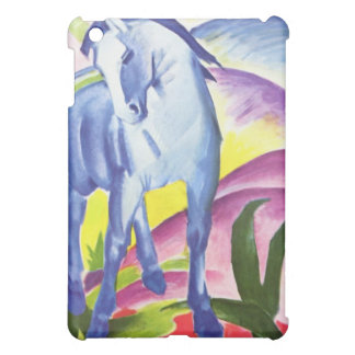 Blaues Pferd I por la piel del iPad de Franz Marc