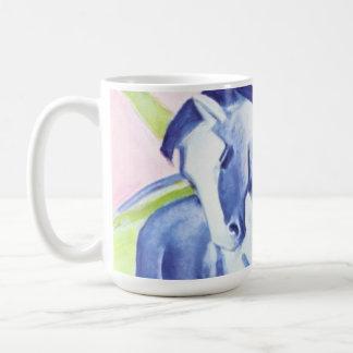 Blaues Pferd I por la taza de Franz Marc