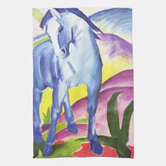 Blaues Pferd I por la toalla de cocina de Franz Ma