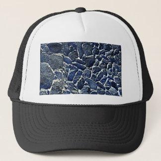 Blaues Relief Trucker Hat