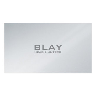 BLAY, head hunters Business Card Templates