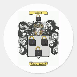 blaylock classic round sticker