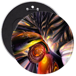 Blaze Abstract Pinback Buttons