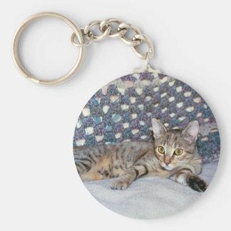 Blaze Cat & Afghan Keychain