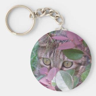 Blaze Cat Eyes Keychain