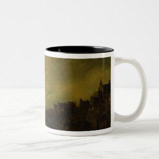 Blaze in Amsterdam Two-Tone Coffee Mug