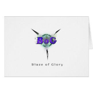 Blaze of Glory Card