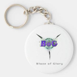 Blaze of Glory Keychain
