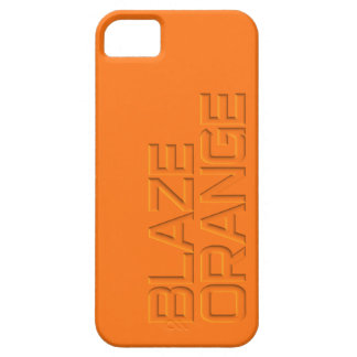 Blaze Orange High Visibility Hunting iPhone 5 Cover