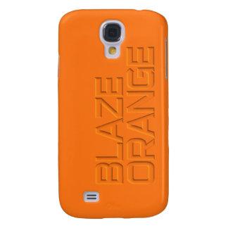 Blaze Orange High Visibility Hunting Galaxy S4 Cover