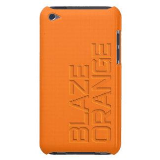 Blaze Orange High Visibility Hunting iPod Case-Mate Case