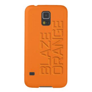 Blaze Orange High Visibility Hunting Cases For Galaxy S5