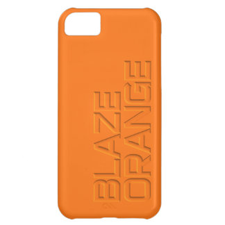 Blaze Orange High Visibility Hunting Case For iPhone 5C