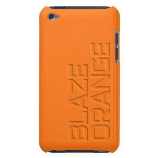 Blaze Orange High Visibility Hunting Case-Mate iPod Touch Case