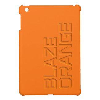 Blaze Orange High Visibility Hunting iPad Mini Cases