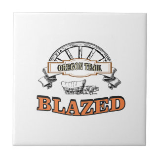 blazed oregon trail ceramic tile