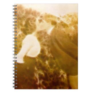 BlazeKiss Tablet Spiral Notebook