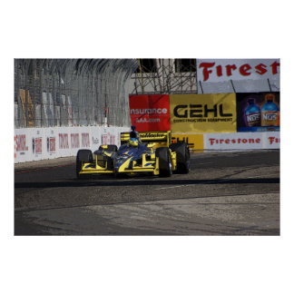 Blazemaster Racing Posterized 01 Poster