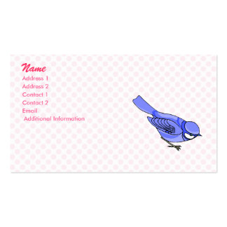 Blazer Blue Jay Business Card