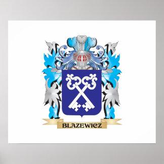 Blazewicz Coat of Arms Print