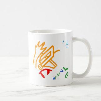 Blazin' Amazing Fire Orange Coffee Mug