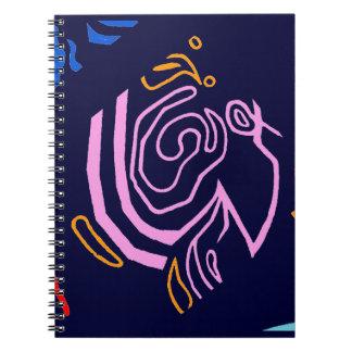 Blazin' Amazing spiral notebook