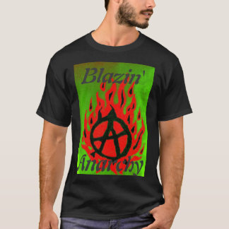 Blazin' Anarchy-New Logo inverted T-Shirt