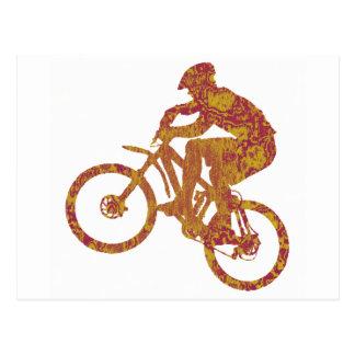 blazin del desierto de la bici tarjetas postales