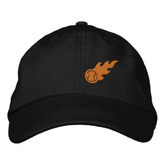 Blazing ACE Tennis Embroidered Baseball Cap