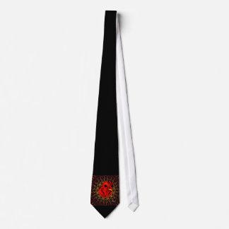 Blazing Brahma Tie