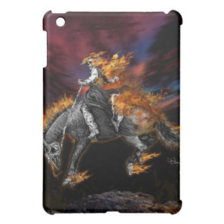 Blazing Broncbuster Cover For The iPad Mini