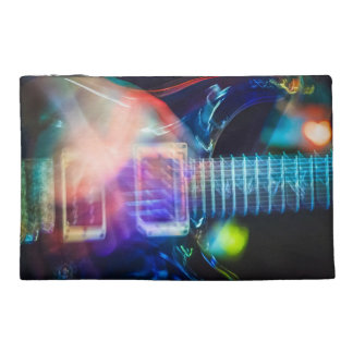 Blazing Electric Guitar Travel Accessory Bags