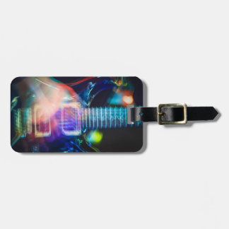 Blazing Electric Guitar Bag Tag