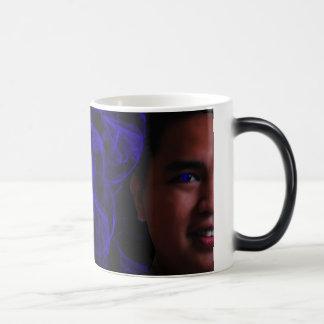 Blazing eyes magic mug