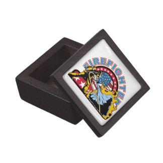 Blazing Firefighter Premium Trinket Box