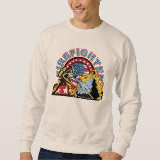 Blazing Firefighter Sweatshirt