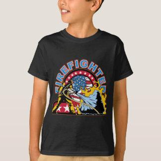 Blazing Firefighter T-Shirt