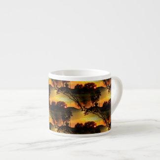 Blazing Florida Golden Sunset Espresso Cup