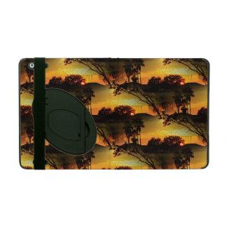 Blazing Florida Golden Sunset iPad Cover