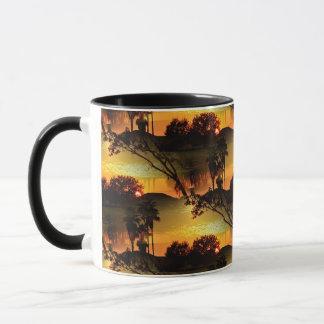 Blazing Florida Golden Sunset Mug