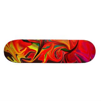Blazing Hot Skateboard Deck