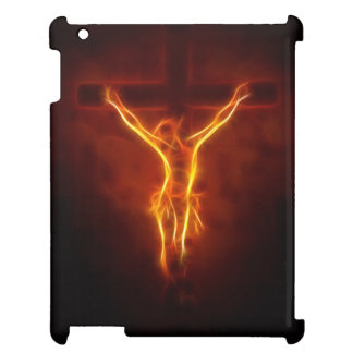Blazing Jesus Crucifixion Case For The iPad